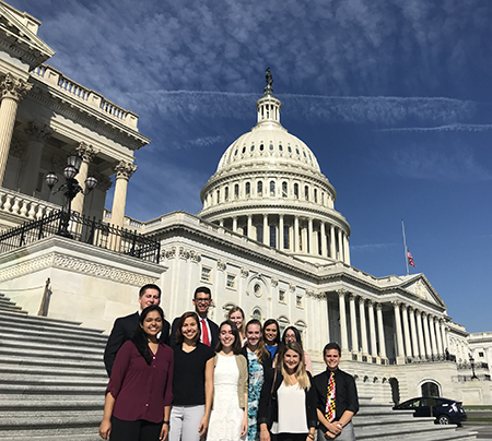 Federal Fellows on Field Trip